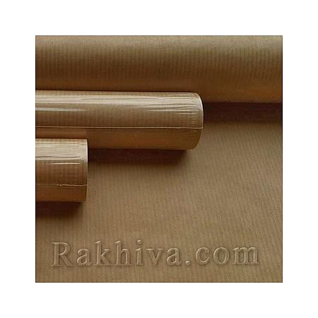 Италианска хартия за опаковане крафт, натурал 550 (5м/ 1 ролка)