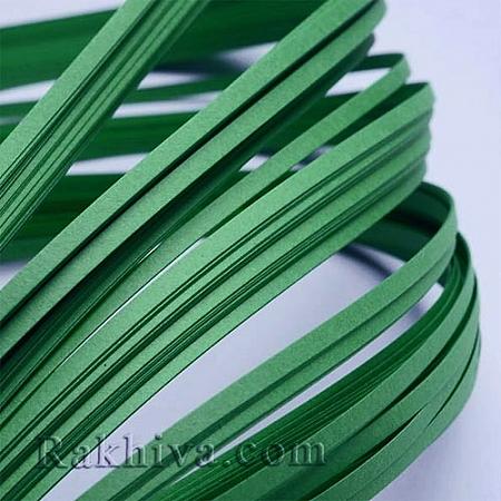 Квилинг лентички тъмно зелено, 3мм/ 390мм (DIY-J001-3mm-B36-1)