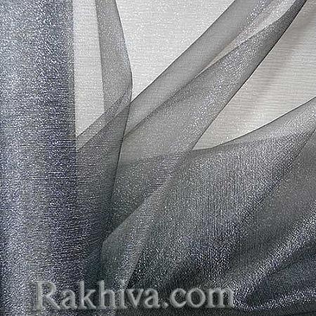 Органза сребро, 47 см/ 10ярда, сребро (49/10/36300)