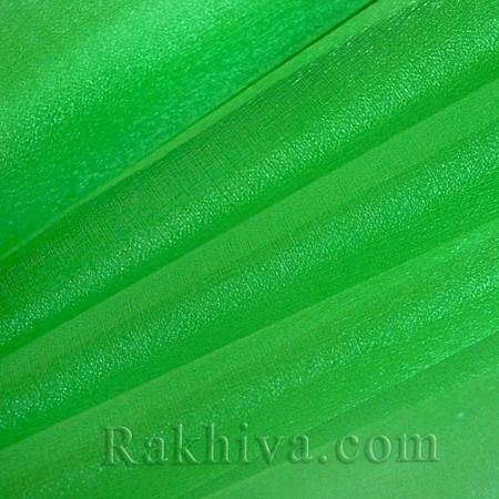 Органза зелено, 47 см/ 10ярда, зелено (49/10/3660)