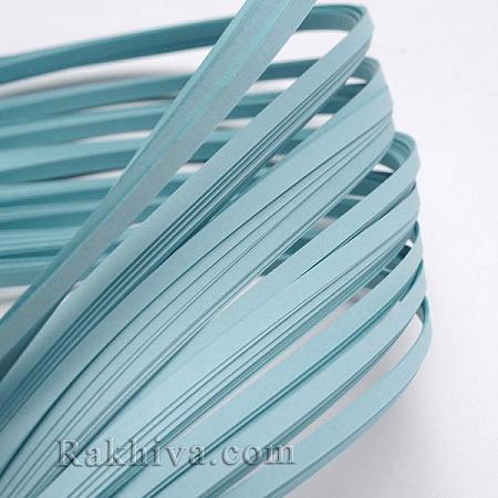 Квилинг лентички синьо, 3мм/ 390мм (DIY-J001-3mm-B10)