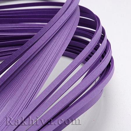 Квилинг лентички лилаво, 3мм/ 390мм (DIY-J001-3mm-B06)