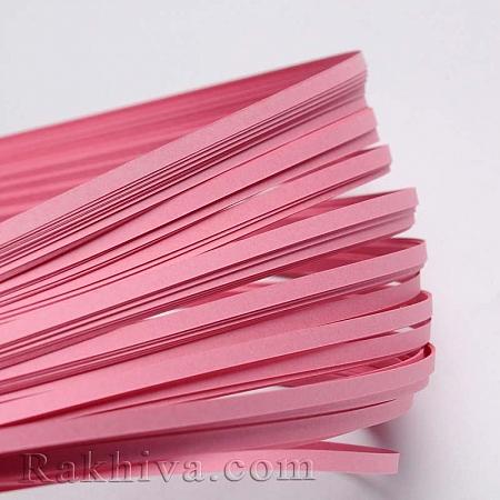Квилинг лентички розово, 3мм/ 390мм (DIY-J001-3mm-B02)