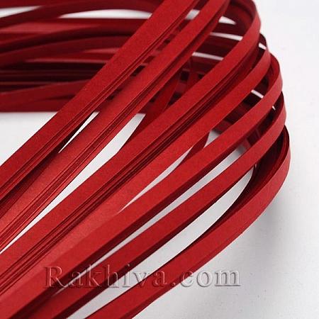 Квилинг лентички червено, 3мм/ 390мм (DIY-J001-3mm-B31)