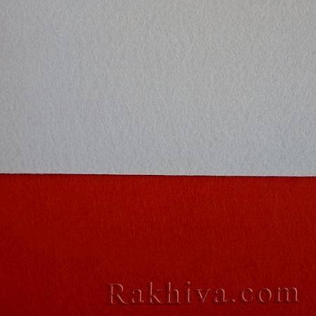 Филц 30х30 см, 8/ 30x30cm бяло - твърд филц