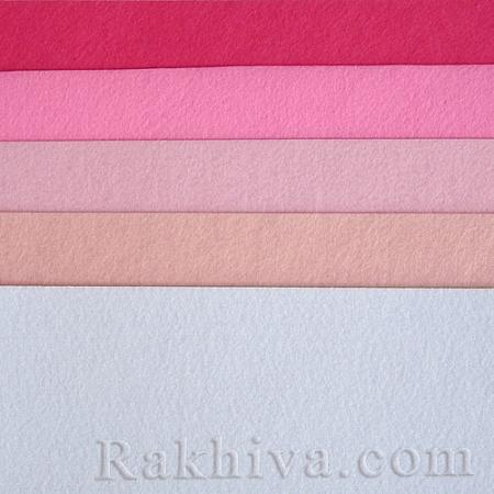 Филц, 2/ (613) перлено розово - мек филц