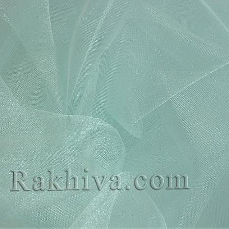 Кристален тюл - св. мента - МАЛКИ ПАРЧЕНЦА (по-малки от 1 л.м), св. мента (85/60) (за 1 лин. м)