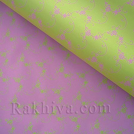 Италиански целофан Пролет резеда,розово, 100 см х 100 см (листи) (100/100/15/61-40)