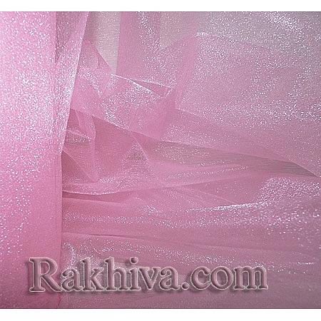 Органза розово, 36см/ 10ярда, розово (36/10/3640)