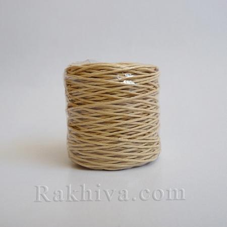 Хартиен шнур, натурално (1/25/6430) ролка 22,50м