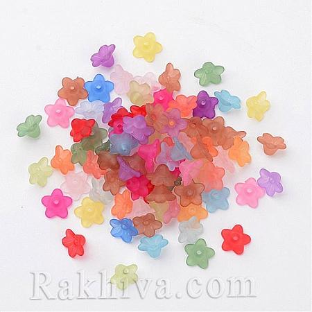 Цветя МАТ Микс , цветя микс, мат, 50 бр. (PL554-M)