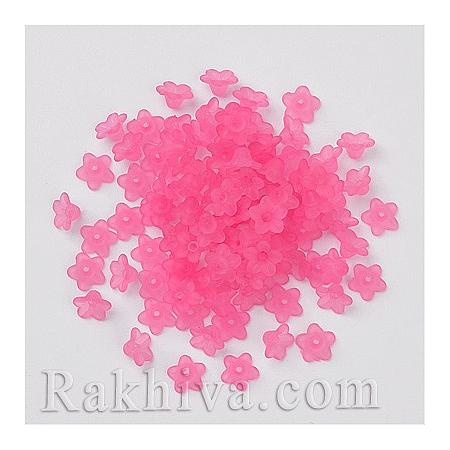 Цветя МАТ цветове, тъмно розово 50 бр. (PL554-03)