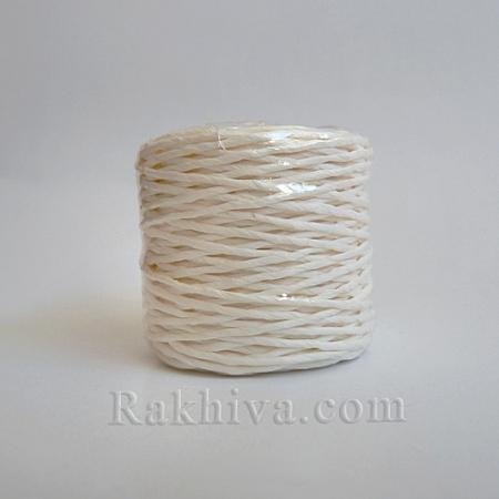 Хартиен шнур, бяло (1/25/6410) ролка 22,50м