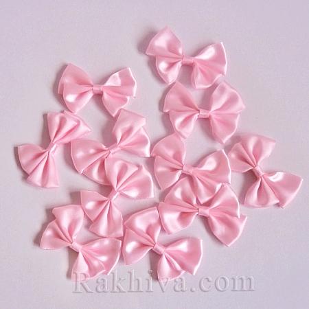Готови панделки САТЕН, розово, 4 бр. (WOVE-R087-17)