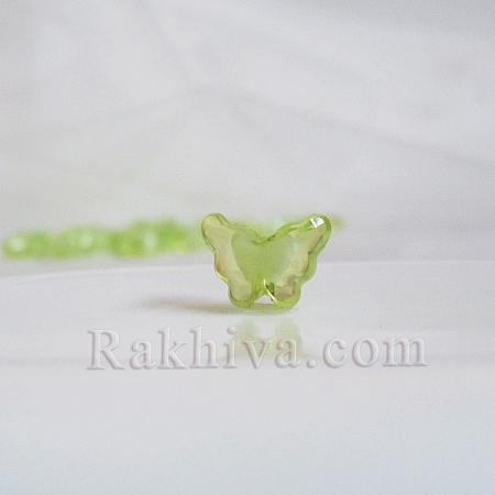 Пеперудки за декорация и бижута, резеда, пеперуди, резеда (TACR-S102-16)