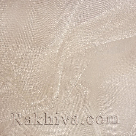 Кристален тюл - цвят пудра (Блъш), пудра (Блъш) за 1 линеен м (3 кв. м) 85/33