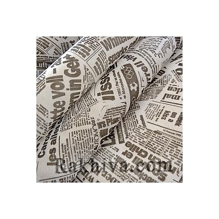 Текстилна хартия Вестник бяло, бяло (18м) (60/18/24010)