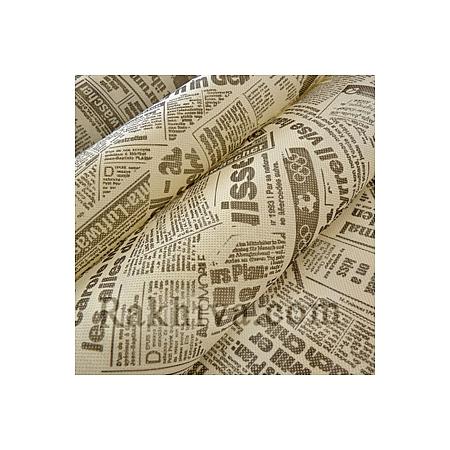 Текстилна хартия Вестник екрю, екрю (18м) (60/18/24012)