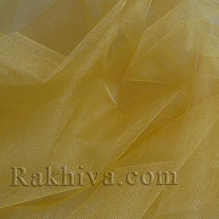 Кристален тюл - злато, злато за 1 линеен м (3 кв. м) 85/200