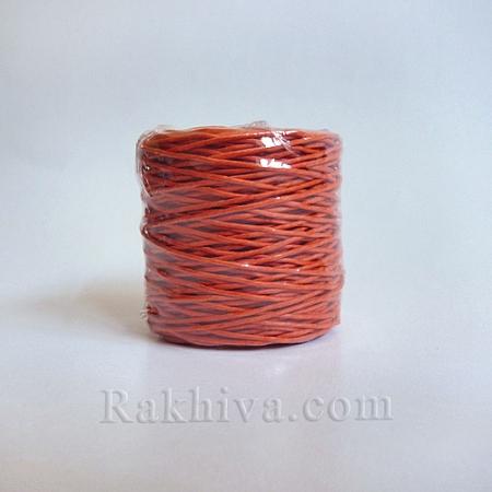 Хартиен шнур, оранжево (1/25/6475) ролка 22,50м