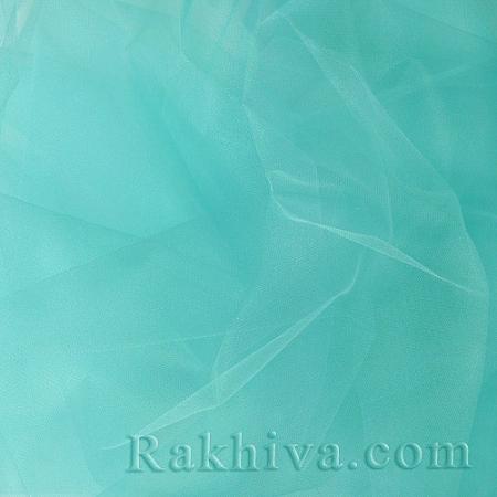 Кристален тюл - мента, мента за 1 линеен м (3 кв. м) 85/60-1