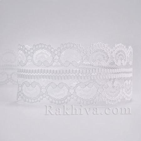 Панделка дантела Виена, бяло (45/10/5002-2/10)