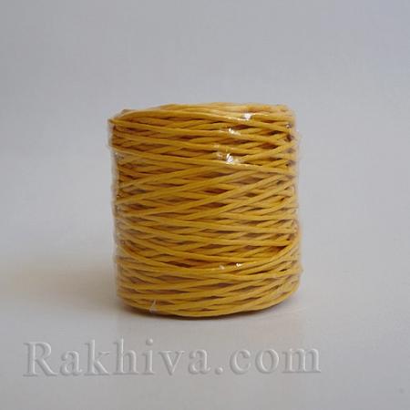 Хартиен шнур, патешко жълто (1/25/6472) ролка 22,50м