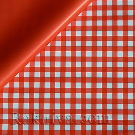 Целофан за опаковане , Каре/ червено (70/100/201880)
