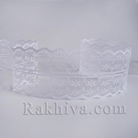 ДАНТЕЛА Романс, пакет, 50мм/9м, бяло (50/10/133-2/10)