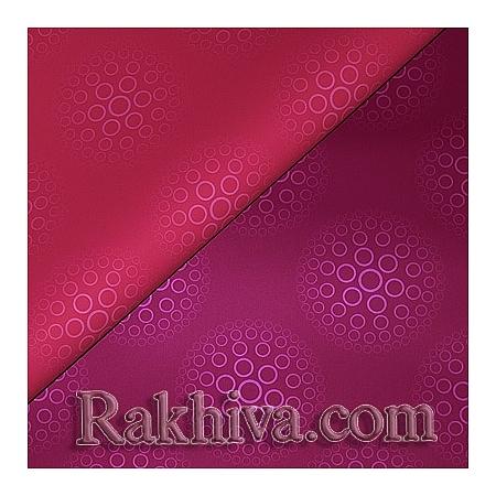 Целофан за опаковане, Романтика/ слива, розово (70/100/91199-40)