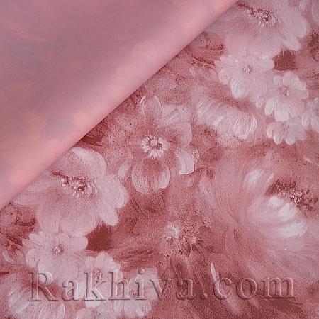 Целофан за опаковане, Цветна градина/ пепел от рози (70/100/18149)