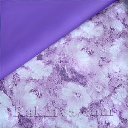 Целофан за опаковане, Цветна градина/ лилаво (70/100/18190)