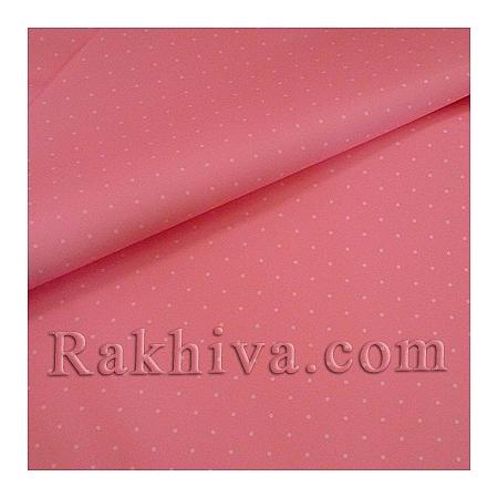 Целофан за опаковане, Точки/ розово, бяло (70/100/151140)