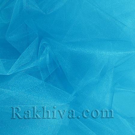 Кристален тюл - тюркоаз, тюркоаз за 1 линеен м (3 кв. м) 85/57