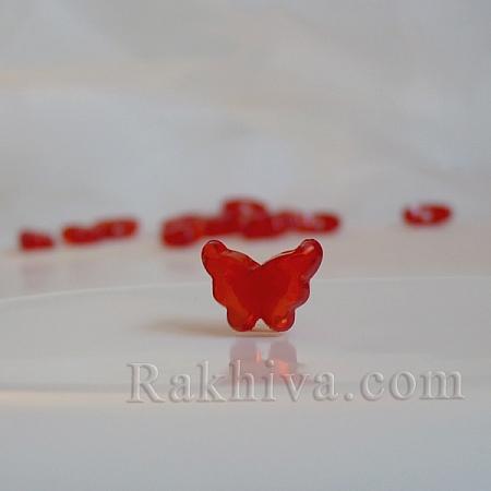 Пеперудки за декорация и бижута, червено, пеперуди, червено (TACR-S102-15)
