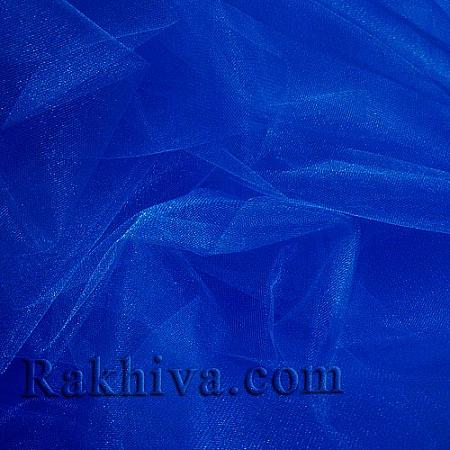 Кристален тюл - тъмно синьо, т. синьо за 1 линеен м (3 кв. м) 85/55