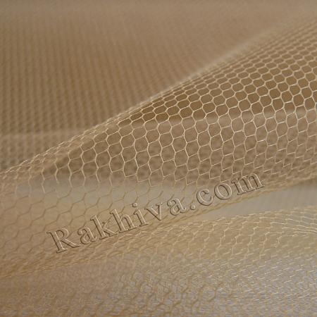 Сватбен тюл - натурал - МАЛКИ ПАРЧЕНЦА (по-малки от 4 кв.м), натурал (84/30) (за 0.6 л. м)