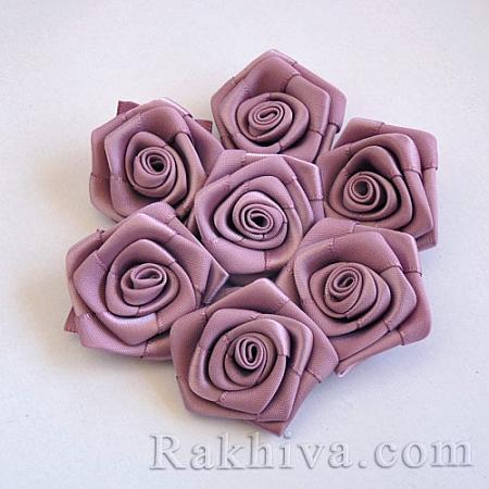 Розички Сатен, роза Винтидж (тъмна), 10бр. (QS08-6)