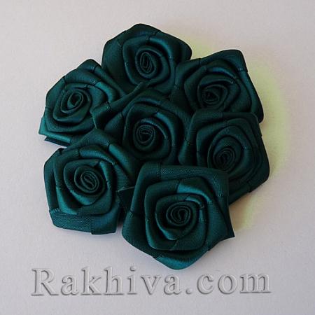 Розички Сатен, зелено, 10бр. (QS08-15)