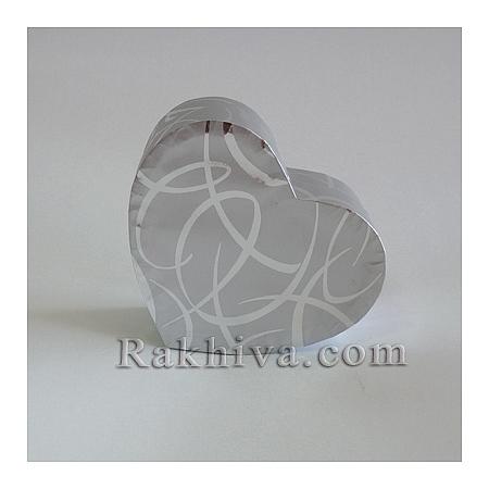 Кутия сърце Цвят № 055/50, С2(шир.=7см/h=3см)