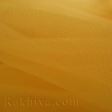 Тюл на ролка цвят жълто, жълто (87/70)