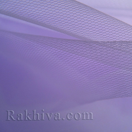 Тюл на ролка цвят люляк, люляк (87/93)