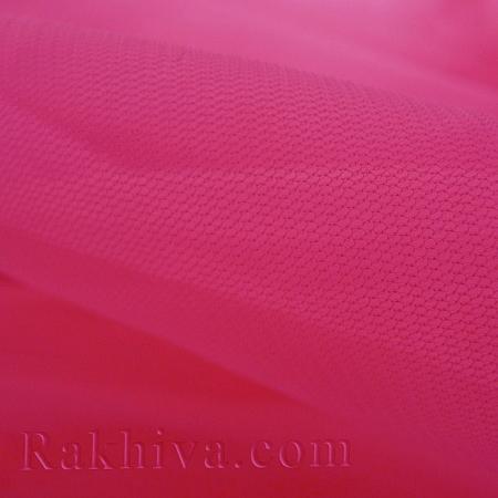 Тюл на ролка цвят циклама, циклама (87/45)