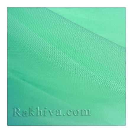 Тюл на ролка цвят мента, мента (87/60-2)