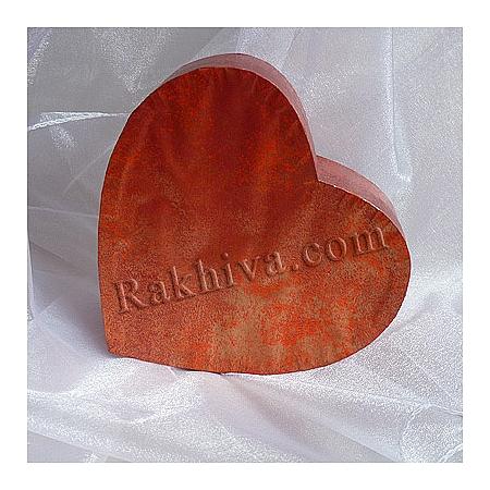 Кутия сърце Цвят № 059, С2(шир.=7см/h=3см)