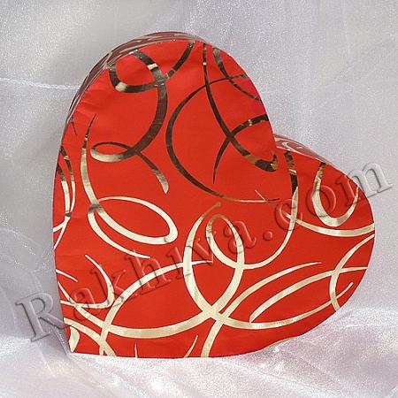 Кутия сърце Цвят № 055/38, С2(шир.=7см/h=3см)