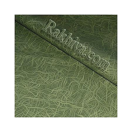 Целофан за опаковане на пакет, Арт маслено зелено (70/100/11167) над 50 листа