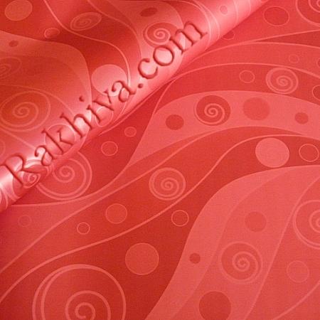 Целофан за опаковане на пакет, Арт 2 червено (70/100/121180) над 50 листа