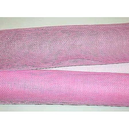 Мрежа за цветя 'Слънчеви лъчи' с двойна нишка (Корея) на кашон, 9 ярда св. розово (41/40) над 20 броя