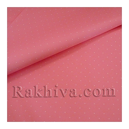 Целофан за опаковане на пакет, Точки розово, бяло (70/100/151140) над 50 листа